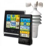 Pro Weather Station with Dual Displays and Wind Speed