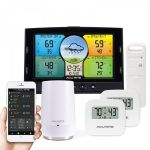 Multi-Sensor Color Display & 3-Sensor Indoor / Outdoor Smart Home Environment System with My AcuRite