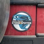 Storm Spotter Magnet on a car- AcuRite Accessories