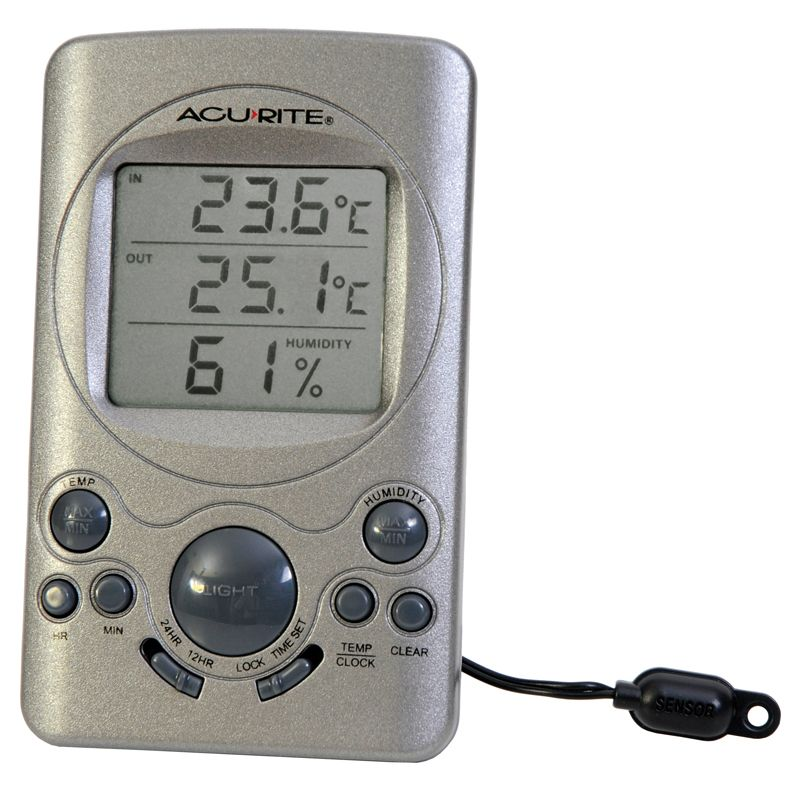 Digital Outdoor Window Thermometer Digital temperature displayed Weather proof