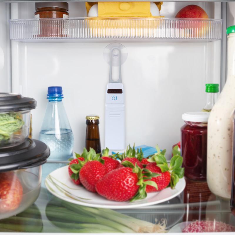Fridge and Freezer Sensor in open fridge