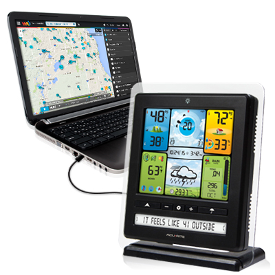 Flexible. Weather ... - PC Connect Weather Stations AcuRite