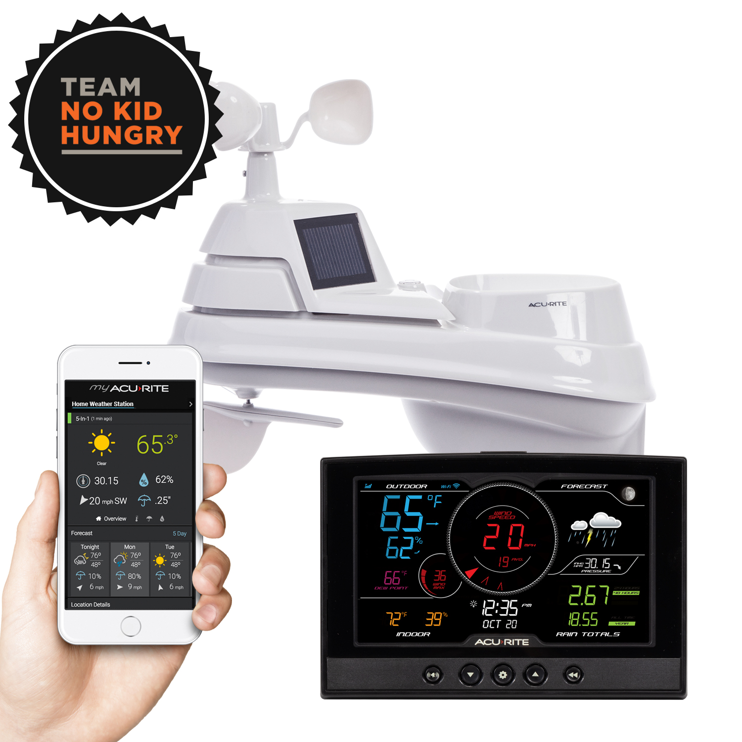 Direct to Wi-Fi Weather Station Bundle