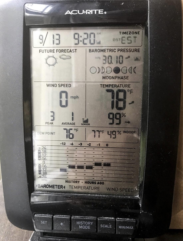 AcuRite Weather Display