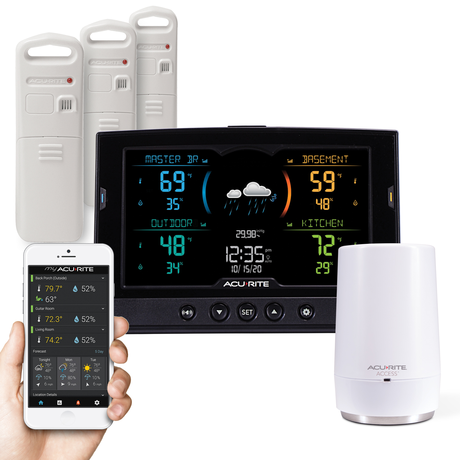 AcuRite HD Multi-Sensor Weather Station with My AcuRite
