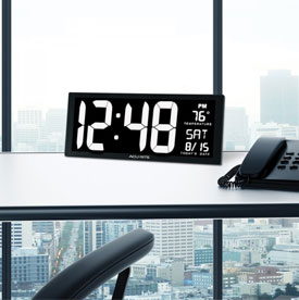 Clocks, Atomic Clocks, Alarm Clocks & Outdoor Clocks | AcuRite