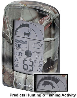 cool hunting gadgets and fishing gadgets - weather forecast success meter