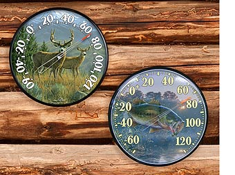 cool hunting gadgets and fishing gadgets - indoor thermometer outdoor thermometer