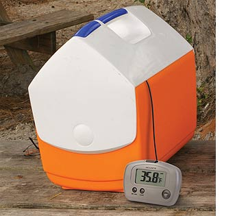 cool hunting gadgets and fishing gadgets - thermometer