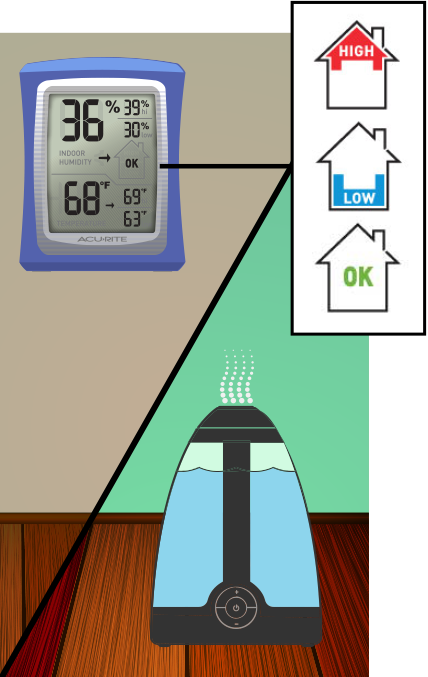 Maintain Home Humidity Levels to Prevent Winter Dryness