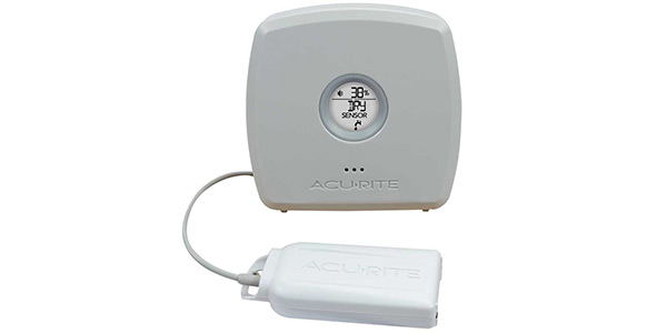 Room Monitor with Optional Water Leak Detector