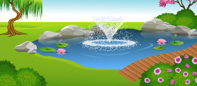 Outdoor Fountain, Pond & Lake Solutions