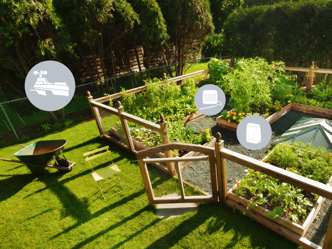Smart Garden Monitoring with AcuRite