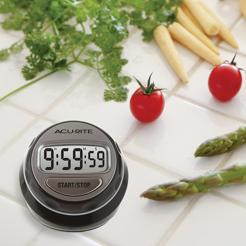 Stainless Steel Rotary Digital Timer