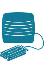 Icon Water Detector Active