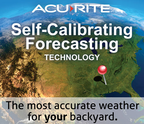 weather forecasting - AcuRite Home Monitoring Devices