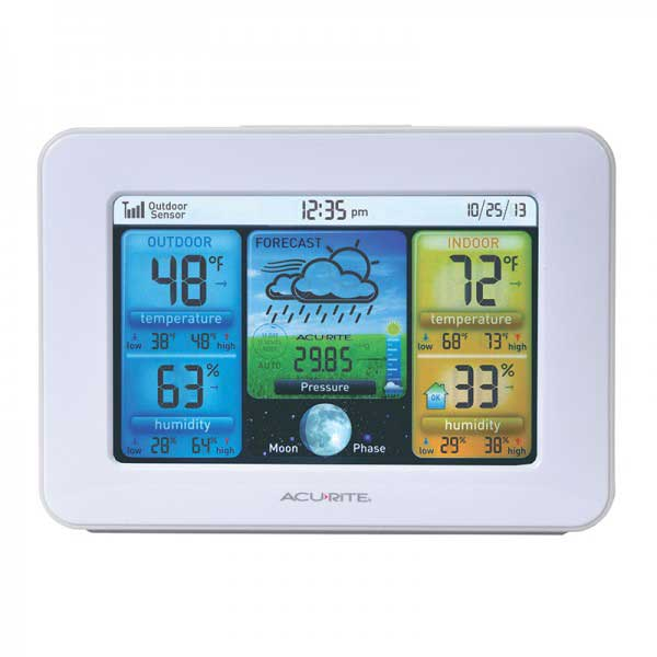 Full Color Weather Station with Forecast/Temperature/Humidity