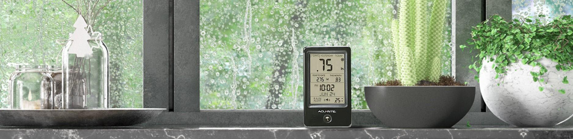Launching Digital Rain Gauge with New Display!