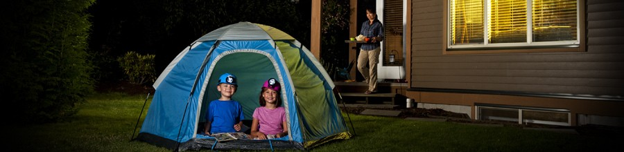 Plan for Backyard Camping with AcuRite