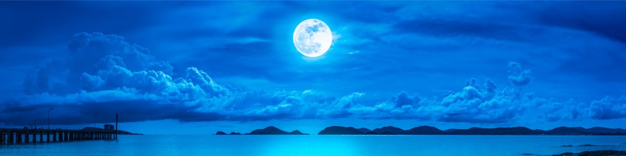 March Blue Moon