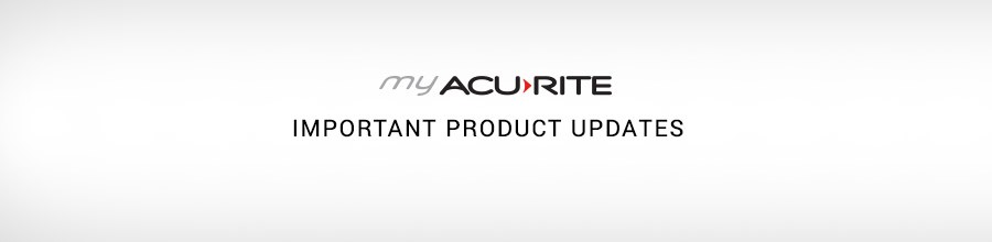 You Asked, We Listened: Recent AcuRite Product Improvements