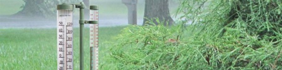 how to measure rain with rain gauges