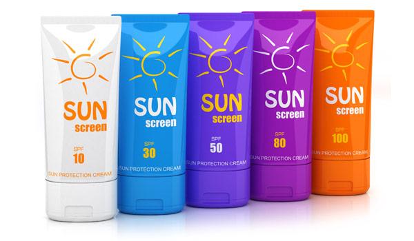 Multiple SPF sunscreen varieties