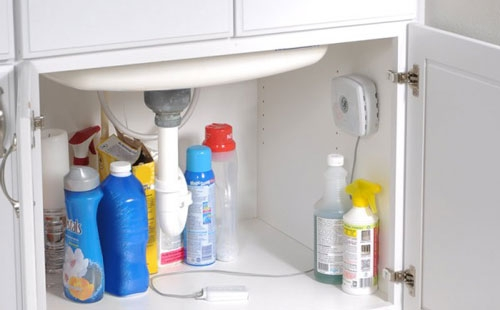 Water Leak Detector under the sink