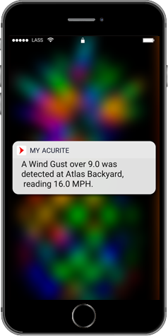 My AcuRite - Custom Alerts - AcuRite Weather Monitoring